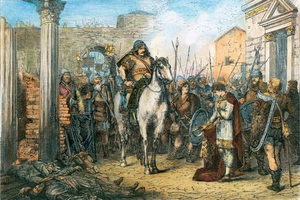 Картинки по запросу Готские племена наступают на Римскую империю